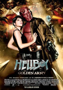 Hellboy: The Golden Army - Locandina
