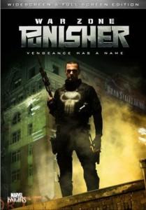 Punisher: War Zone - Copertina DVD usa