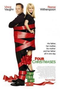 Tutti Insieme Inevitabilmente (Four Christmases) - Locandina Usa