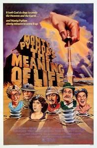 Monty Python: Il Senso della Vita - Locandina (UK)