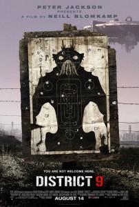 District 9 - Teaser Poster 1 - USA