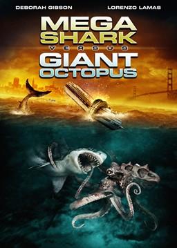 Mega Shark Versus Giant Octopus - Locandina - USA