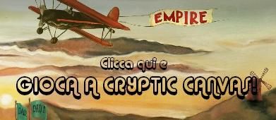 CineOcchio presenta: The Cryptic Canvas - Vai al gioco di EmpireOnLine