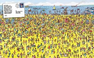 Dov'è Wally? Spiaggia