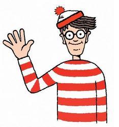 Dov'è Wally? - Saluto