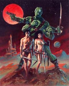 John Carter of Mars - Art 1
