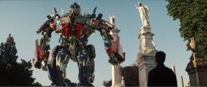 Un'immagine tratta dal film Transformers - La Vendetta del Caduto