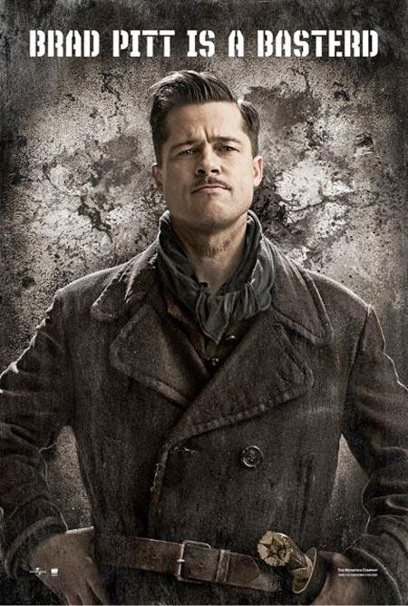 Bastardi Senza Gloria - Poster (USA) - Brad Pitt