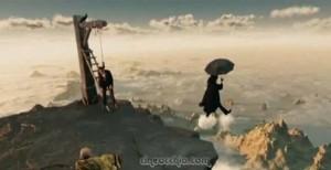 Parnassus, l'Uomo che Voleva Ingannare il Diavolo - Ombrello e Nuvole