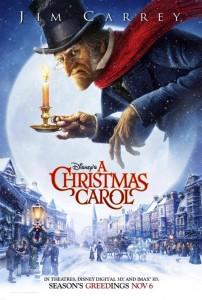 A Christmas Carol (2009) - Locandina