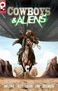 Cowboys and Aliens - Poster Fumetto