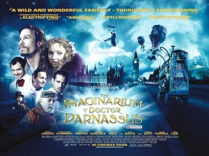 Parnassus: l'Uomo che Voleva Ingannare il Diavolo - Poster (USA) 1
