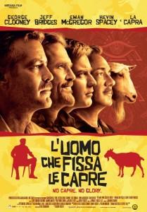 L'Uomo che Fissa le Capre (The Men Who Stare at Goats) - Locandina (ITA) 1