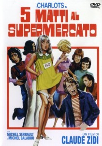 Cinque Matti al Supermercato - Locandina DVD (ITA)