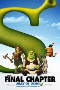 Shrek 4 - E Vissero Felici e Contenti - Teaser Poster (USA) 1